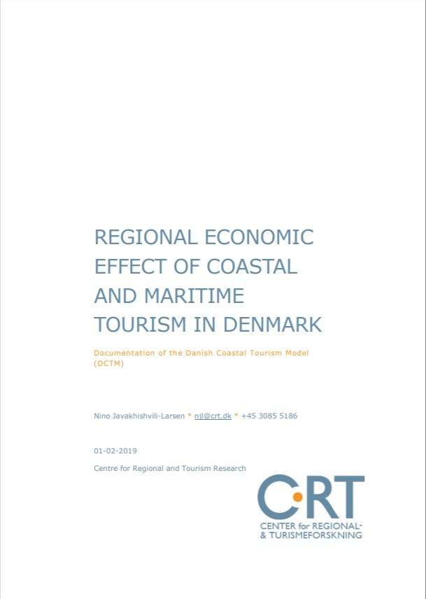 Regional economic effect of coastal and maritime tourism in Denmark