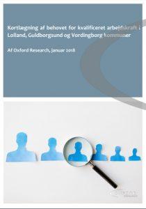 Kortlægning af behovet for kvalificeret arbejdskraft i Lolland, Guldborgsund og Vordingborg kommuner