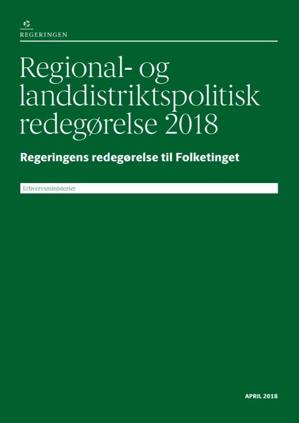 Regional- og landdistriktspolitisk redegørelse 2018